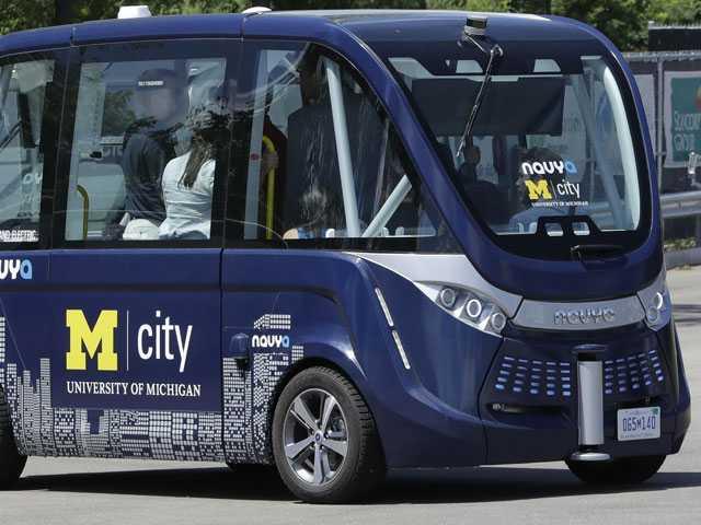University of Michigan Getting Driverless Shuttles This Fall