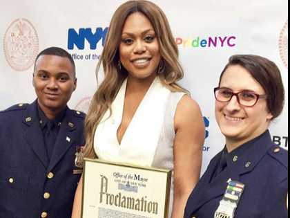 Watch: NYC Mayor Proclaims June 22 'Laverne Cox Day'