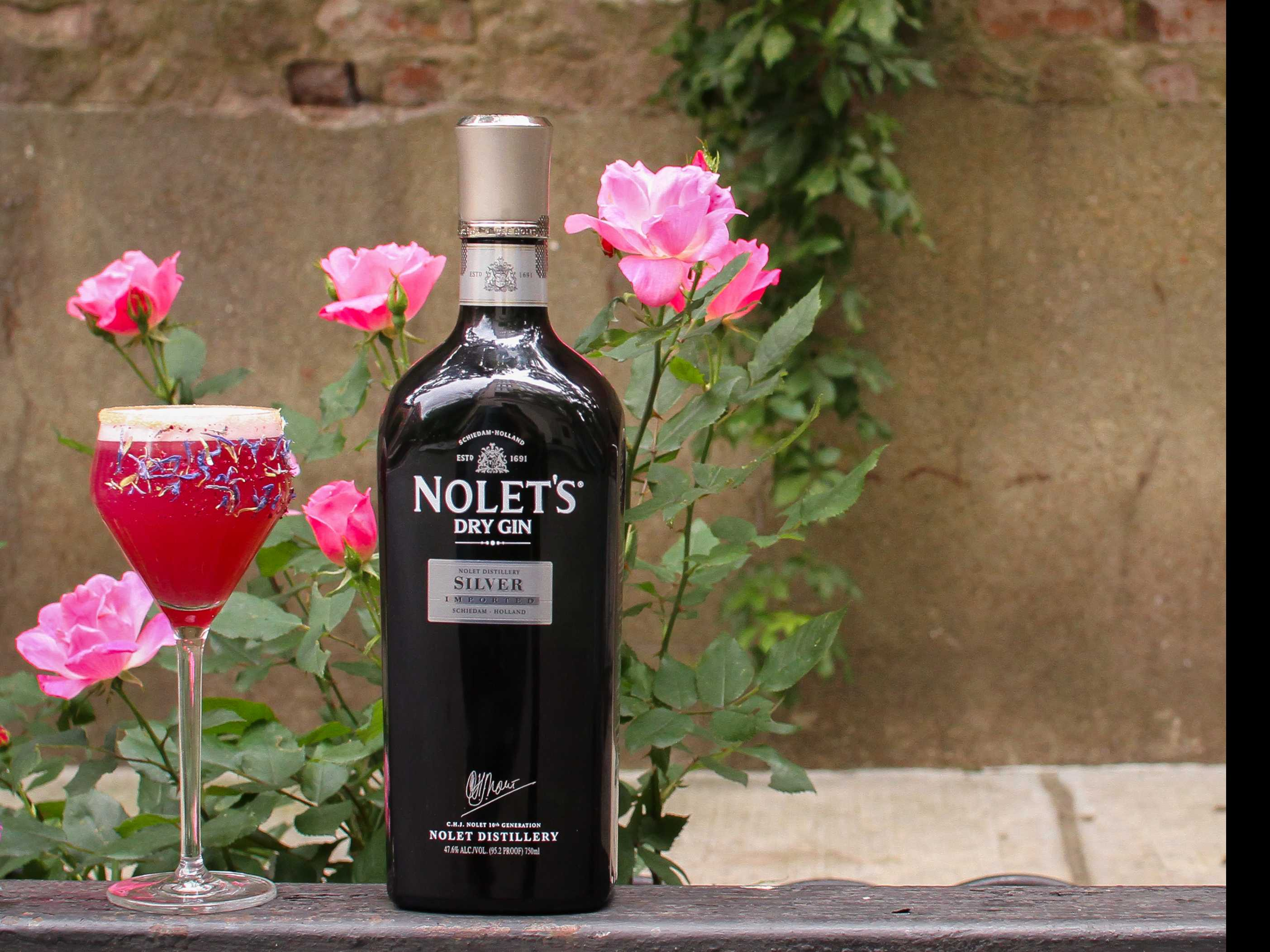 Toast to Pride: 'Love in a Mist' with NOLET'S Gin