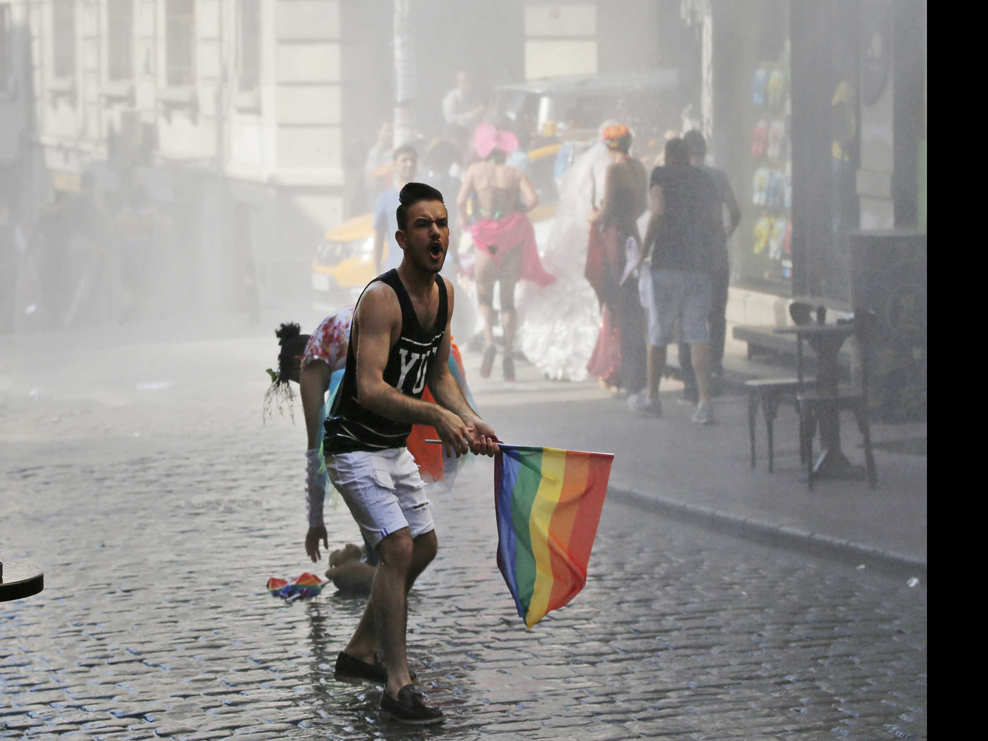 Activists Kept From Gathering En Masse for Istanbul Pride