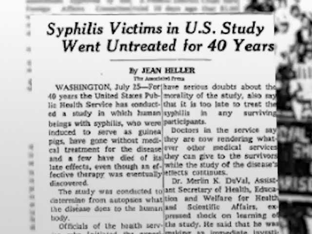 Trump Administration Opposing Bid for Syphilis Study Museum