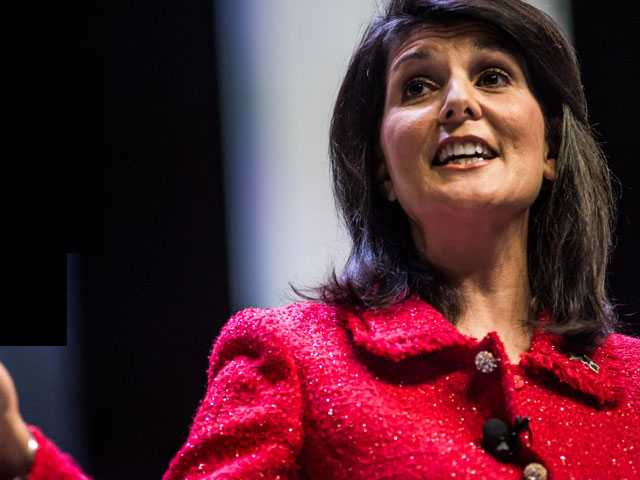 Booed at Brunch, NYC Pride Crowd Heckles Nikki Haley on Sunday