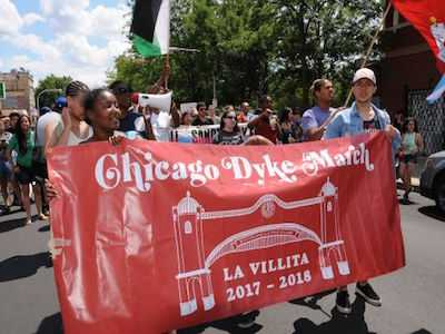 Marchers With Jewish Flags Banned from Chicago Dyke March
