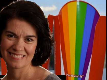 Hate Group Leader Running Out of Places to Shop and Eat, Boycotts McDonalds Over Rainbow Fry Boxes
