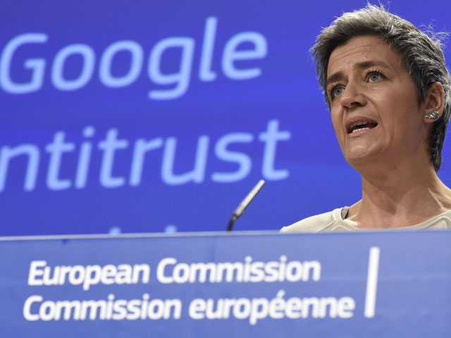 EU Fines Google a Record 2,4 Billion Euros in Antitrust Case