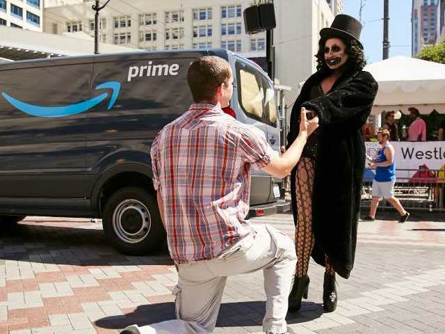 Watch: Seattle Drag Queen Gets Engaged Dressed as the Babadook