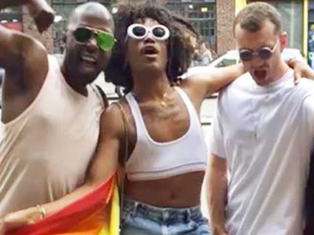 PopUps: Sam Smith Returns to Social Media (Again) to Celebrate Pride
