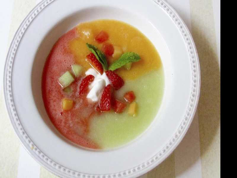 Three Melon Soup is a Summer Showstopper