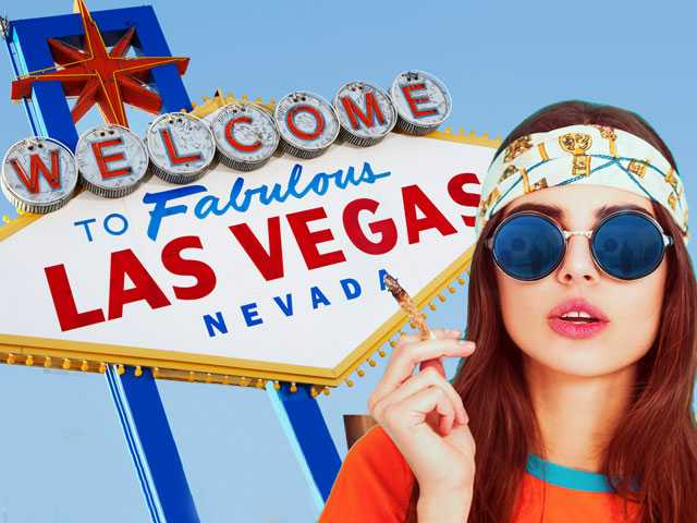 Vegas to Launch Latest Legal Vice for Tourists: Pot
