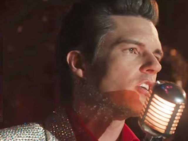 Watch: Brandon Flowers Shows Off His Masculine Side in New Vid for the Killers' 'The Man'