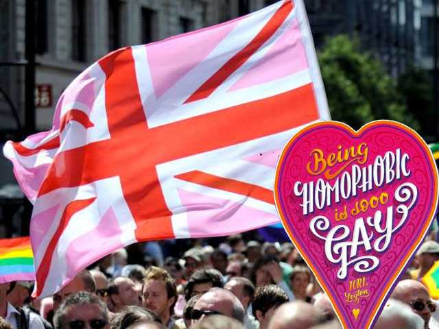After Backlash, 'Homophobia is Gay' Poster Nixed from London Pride for Being Anti-Gay