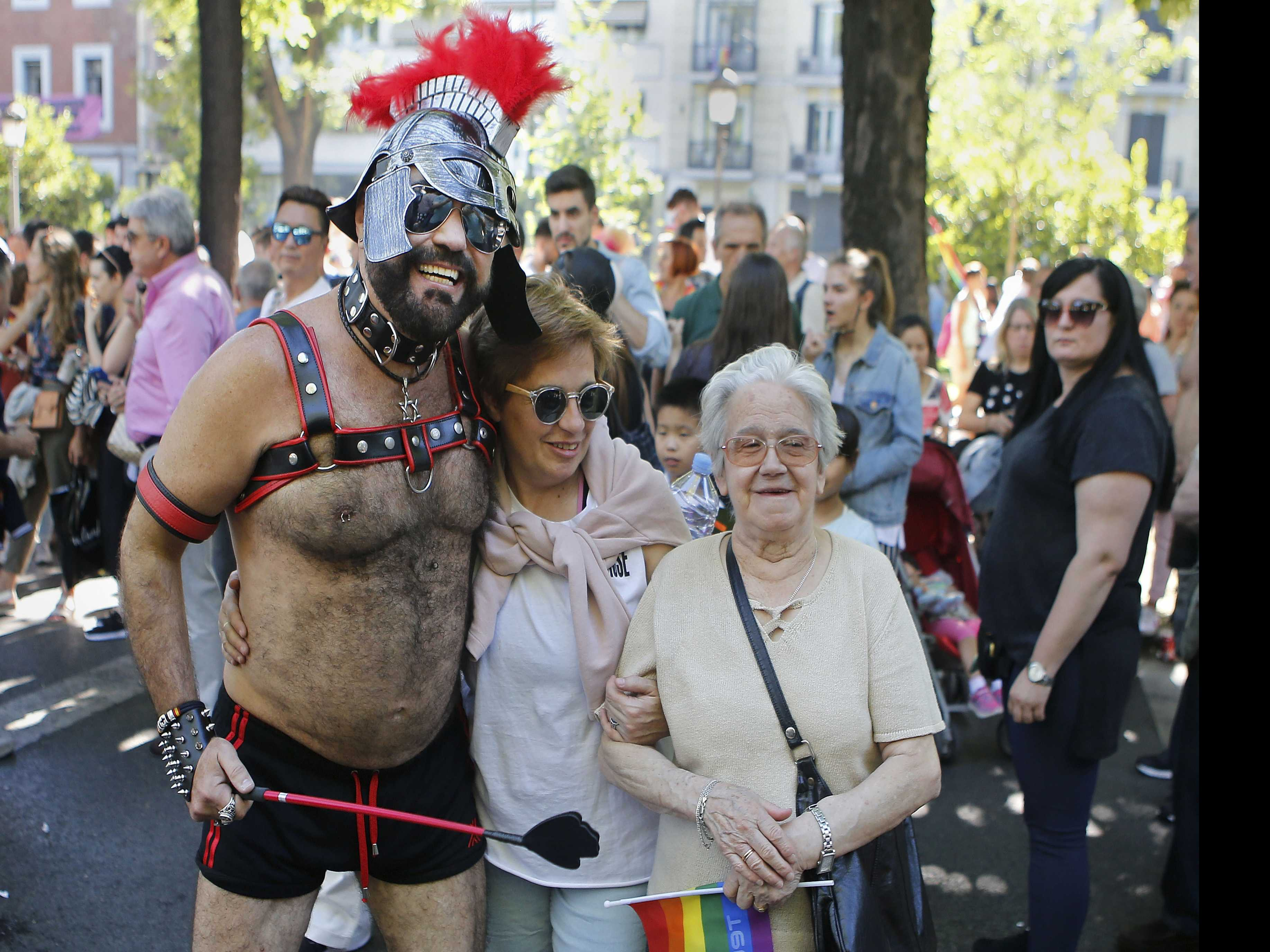 Hundreds of Thousands Rally for LGTBI Rights in Madrid