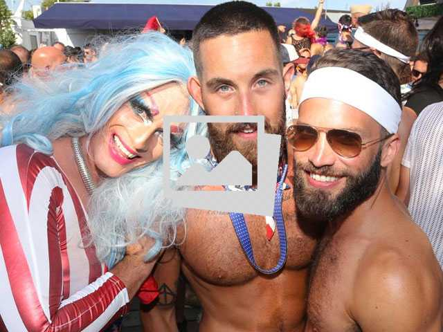 Annual Invasion of Fire Island Pines Pool Party :: July 4, 2017