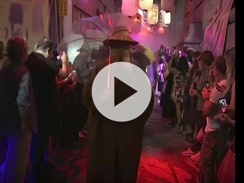 Watch: Raf Simons Inspired by 'Blade Runner'