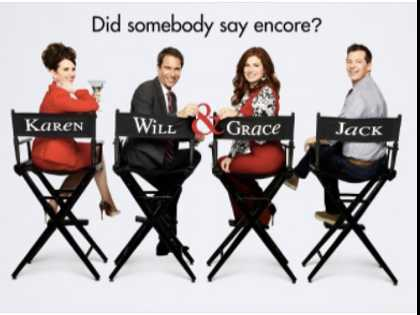 HRC Partners with 'Will & Grace' for Premiere Sweepstakes Fundraiser
