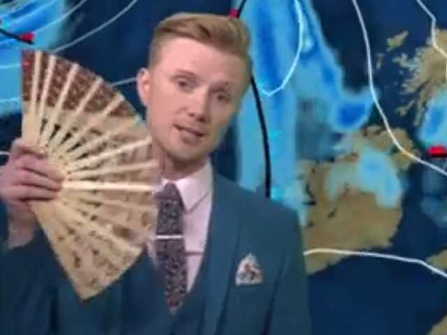 Watch: UK Weatherman Makes Forecast Fabulous with 'Drag Race' Terms