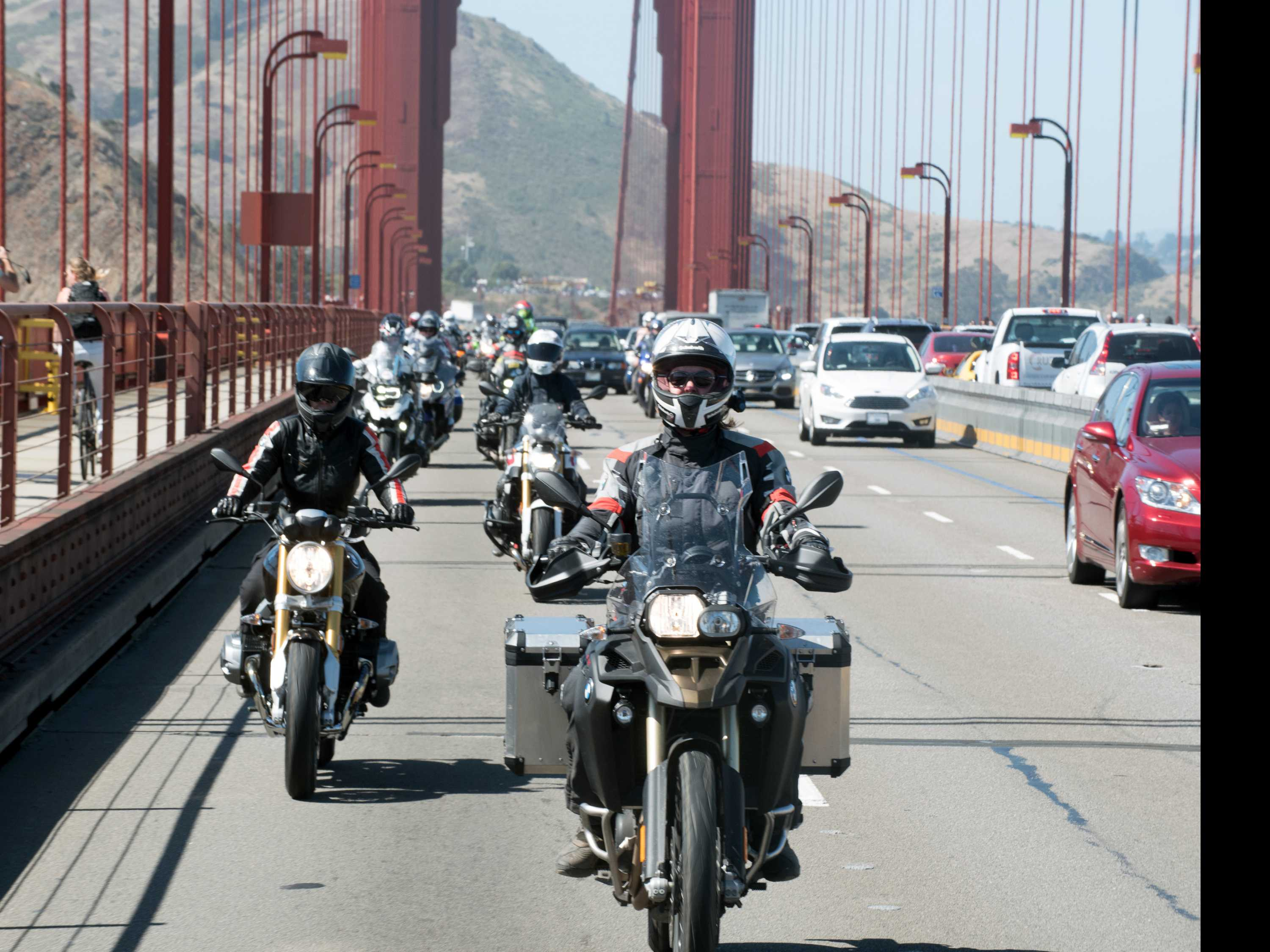 Long-Distance Motorcycle Trips Seek to Empower Women