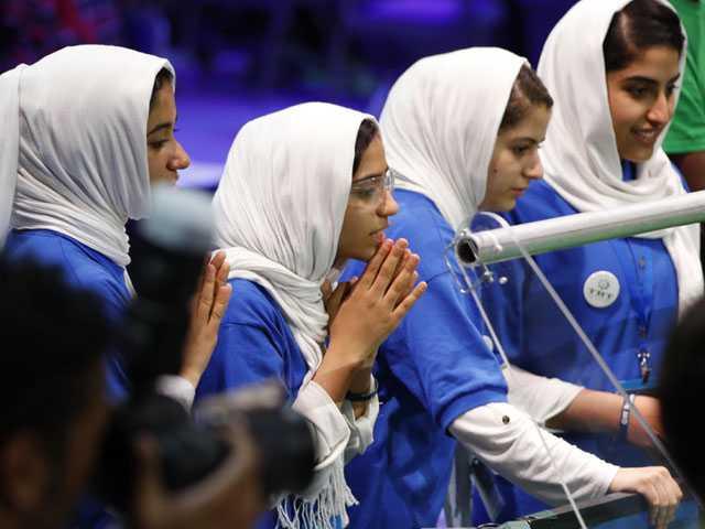 Afghan Team Among Medal Winners at Global Robotics Event