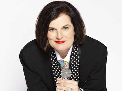 Paula Poundstone Performs at Cape Cod Melody Tent