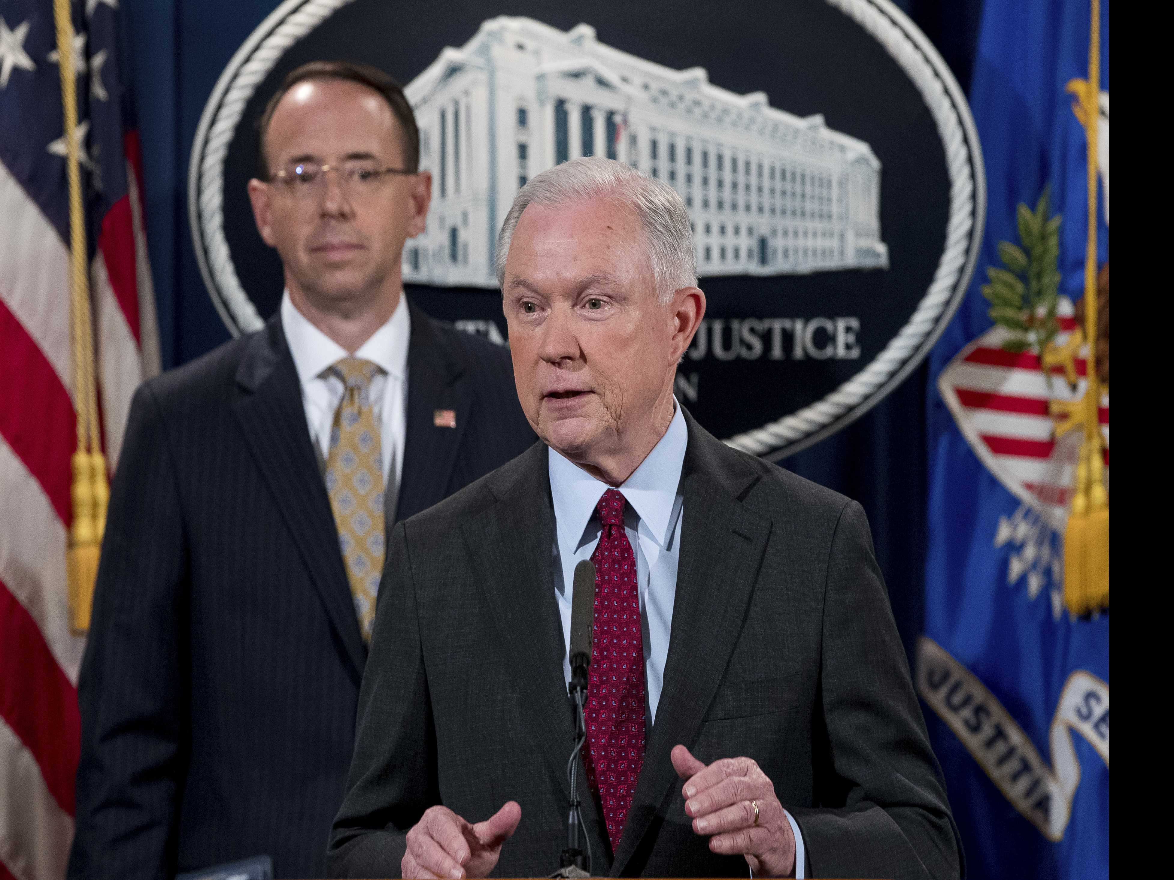 Sessions Staying as Attorney General Despite Trump Rebuke