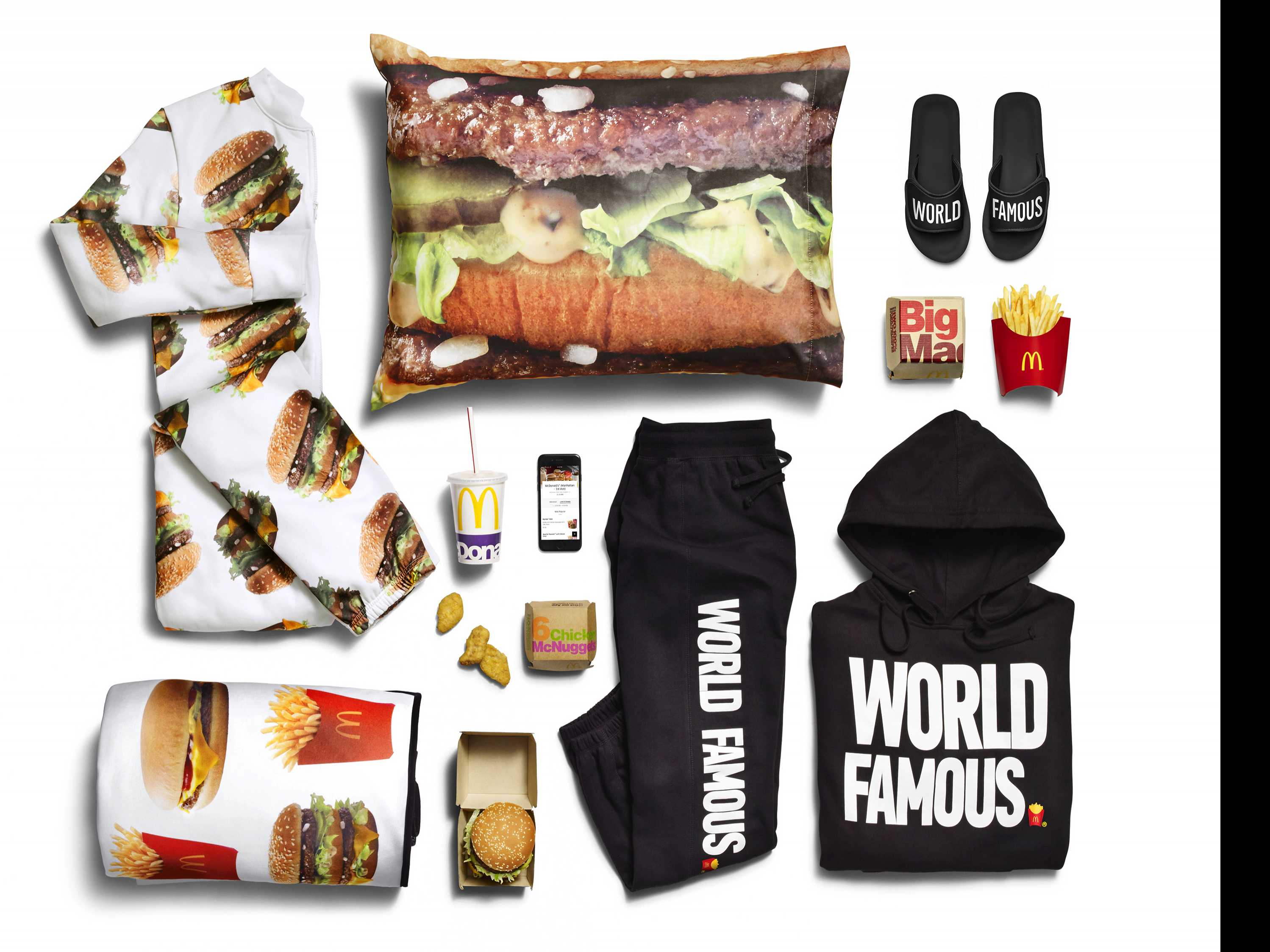 McDonald's Adds Big Mac Onesie and Sweatsuit to Delivery Items