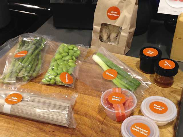 Review: Amazon Meal Kits