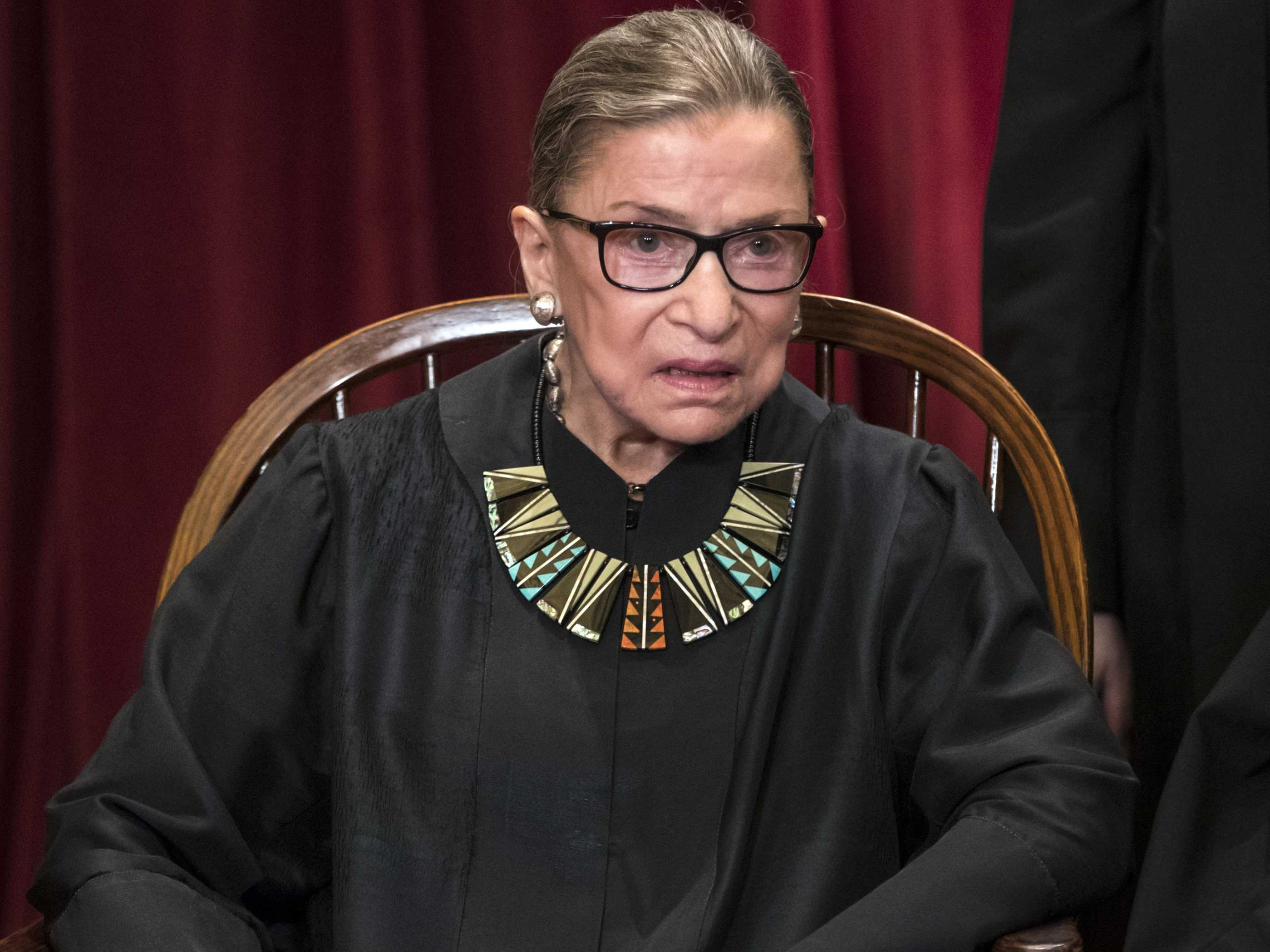 Ginsburg: Justices Felt Trump Travel Ban 'Too Restrictive'