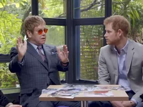 Watch: Elton John Thanks Princess Diana for Her 'Incredible Gift' to Gay People