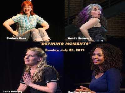 LA Women's Theatre Fest Presents 'Defining Moments'