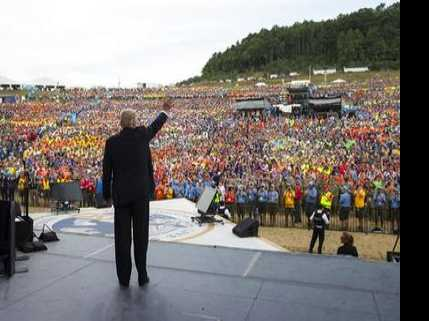 Boy Scouts Leader Apologizes for Trump's Jamboree Speech