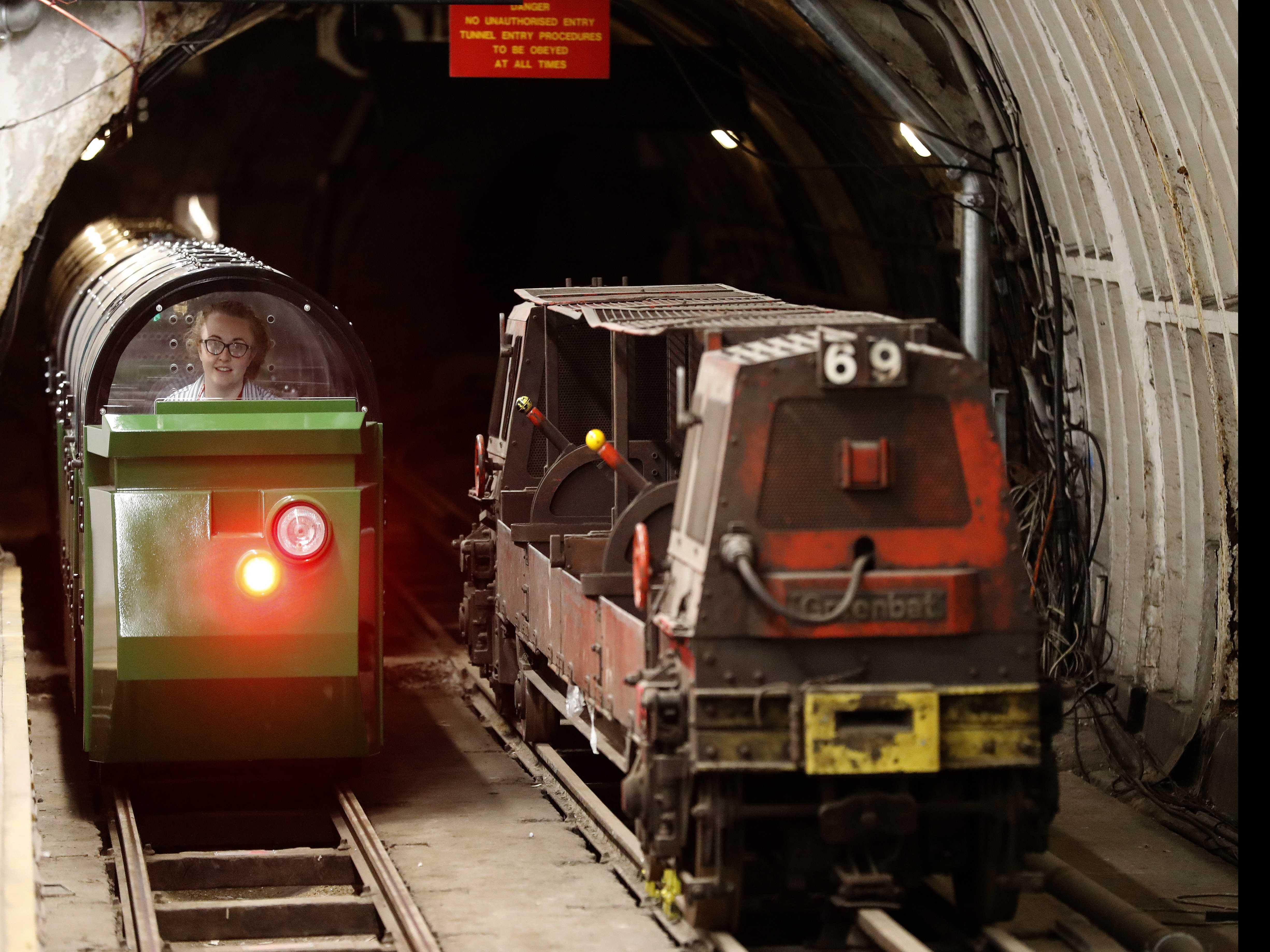 Mail Rail Lets Tourists Visit London's Secret Postal Railway