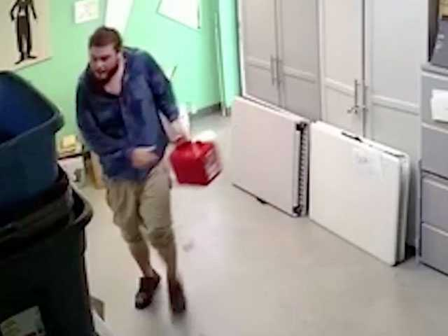 Watch: Man Caught on Video Setting Phoenix LGBT Youth Center on Fire