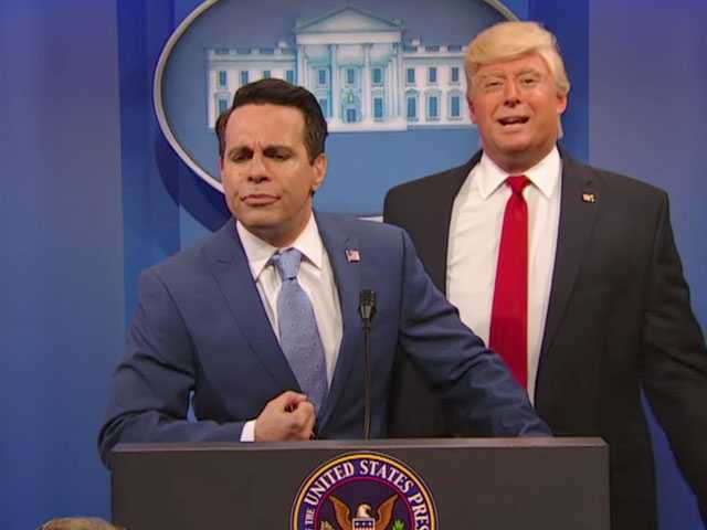Watch: Mario Cantone Kills It as Scaramucci on 'The Presidents Show'