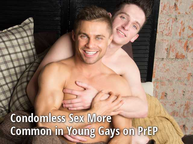 Condomless Sex More Common in Young Gays on PrEP