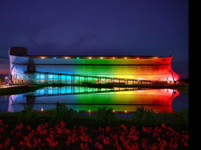 Ark Theme Park Encounters Controversy Over Rainbow Lights