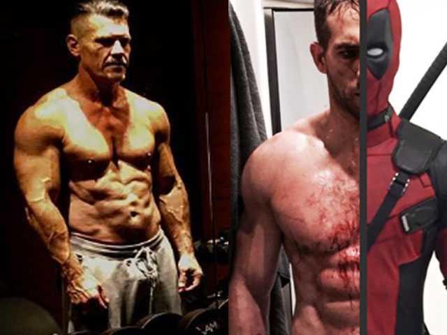 PopUps: Ryan Reynolds, Josh Brolin Show Off Abs for 'Deadpool 2'