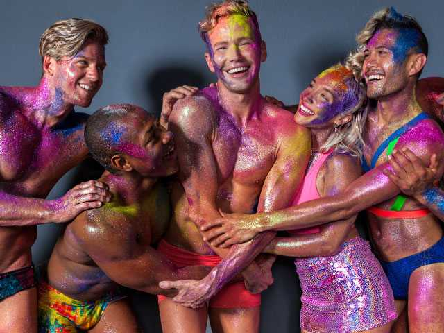 5K Glitter Run Raises Funds for Los Angeles LGBT Center
