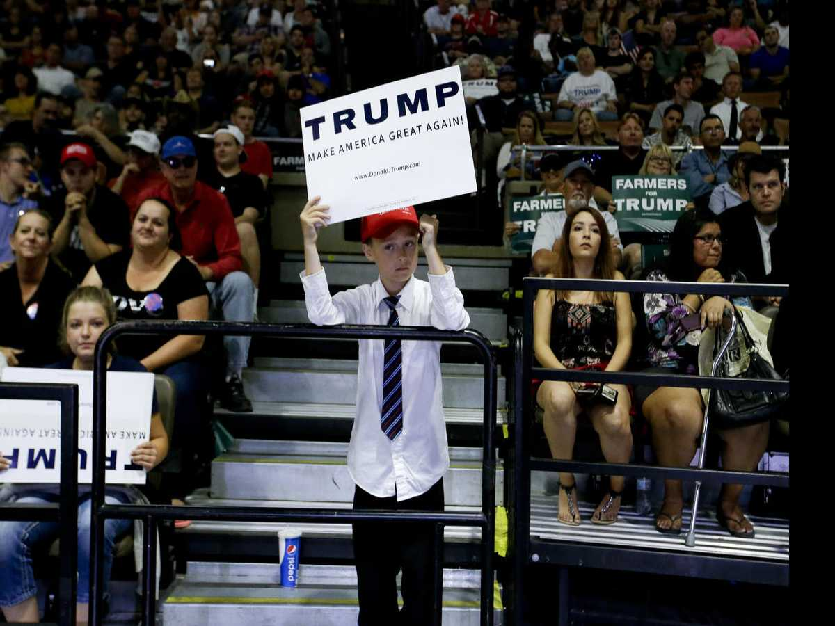 Our Future: Amidst Chaos, Trump's Support Stays High Amongst His Followers