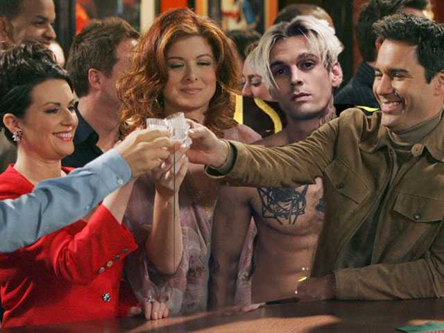 Is Aaron Carter Going to be on the 'Will & Grace' Revival?