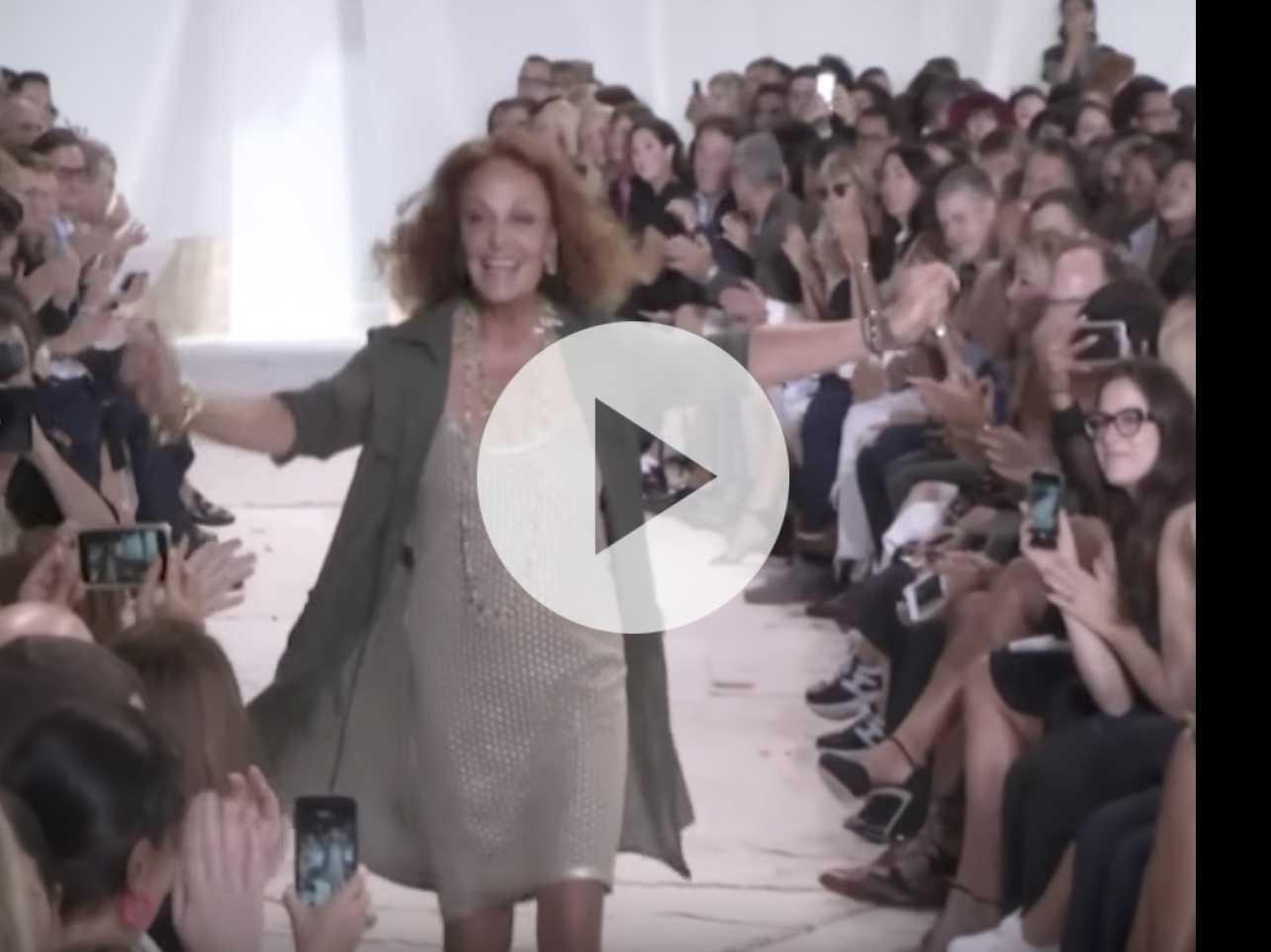 Watch: Diane von Furstenberg