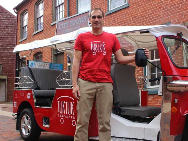 Tour Operator in Amish Country Gets in Tiff over His Tuk-tuk