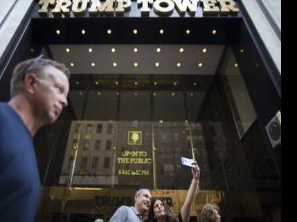 NYC Prepared for President's Return to Trump Tower