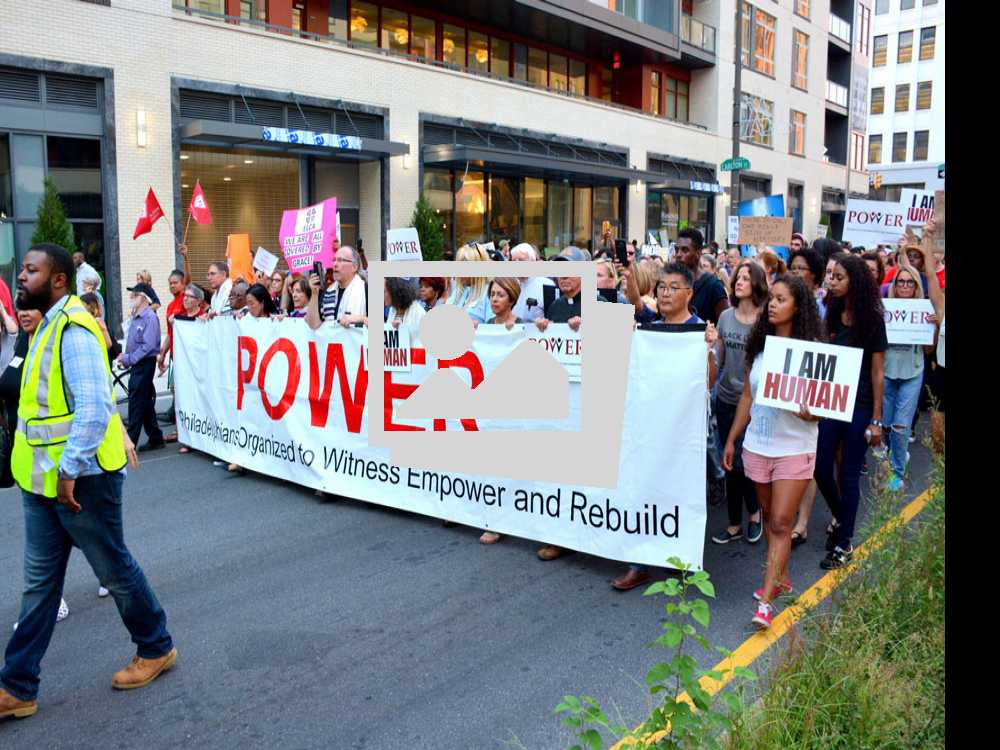 Charlottesville Rally In Philadelphia :: August 16, 2017