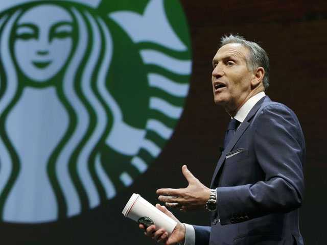 Starbucks Chairman Questions Country's 'Moral Fiber'