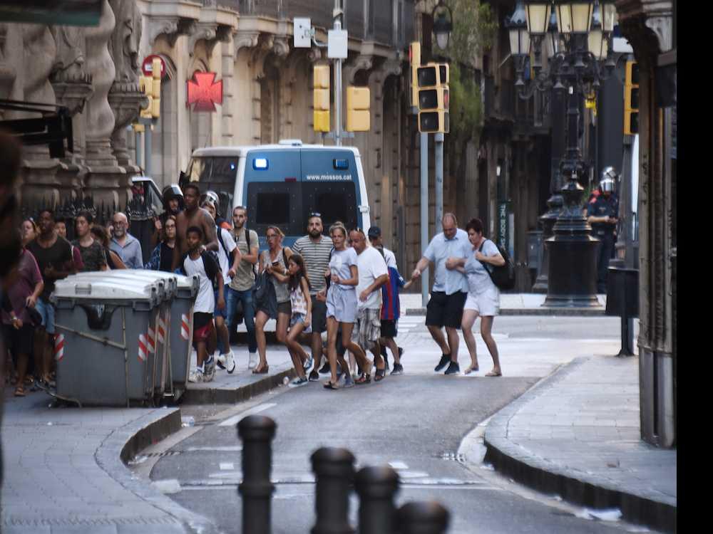 'Innocence Has Been Broken': Las Ramblas, Barcelona