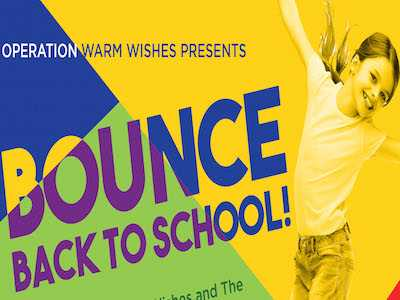 Operation Warm Wishes Presents: Bounce Back To School Supplies and Backpack Giveaway!