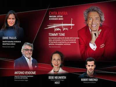 Get Your Tickets When Bebe Neuwirth Hosts Chita Rivera Awards on Broadway