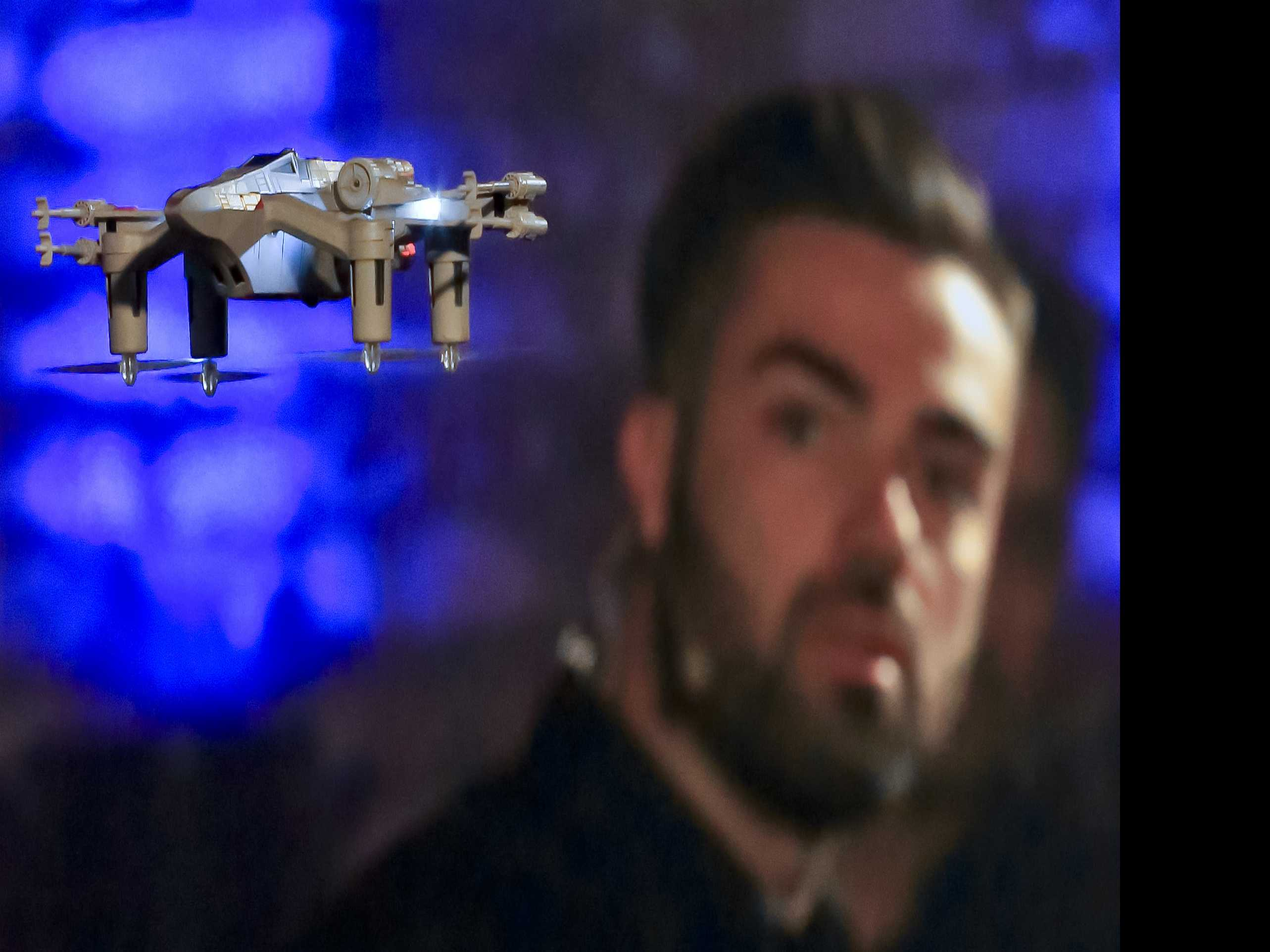 Not Droids: 'Star Wars' Fighting Drones Hitting the Air