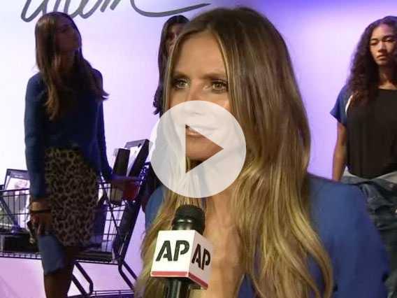 Klum On Fashion Line: 'It's Just Mind-Blowing'