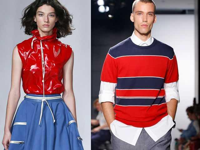 NY Fashion Week: Raf Simons for Calvin Klein & Heidi Klum